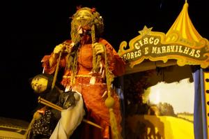Espetáculo: Circo de Horrores e Maravilhas Foto: Cláudia Sachs