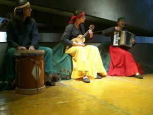 Espetáculo: Mboitatá Foto: Janaína Mello