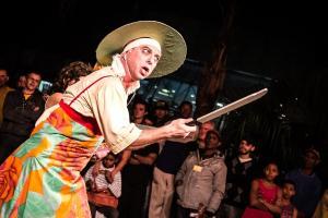 Espetáculo: O Baile dos AnastácioFoto: Vera Parenza